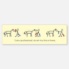 I am a Professional: Judge 1 / Bumper Bumper Bumper Sticker