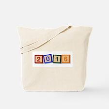 2016 Blocks Tote Bag