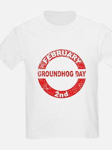 Groundhog Day Stamp T-Shirt