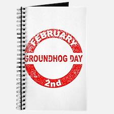 Groundhog Day Stamp Journal