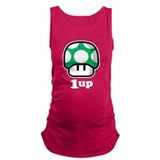 1up Dark Maternity Tank Top