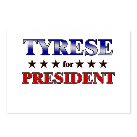 TYRESE for president Postcards (Package of 8)