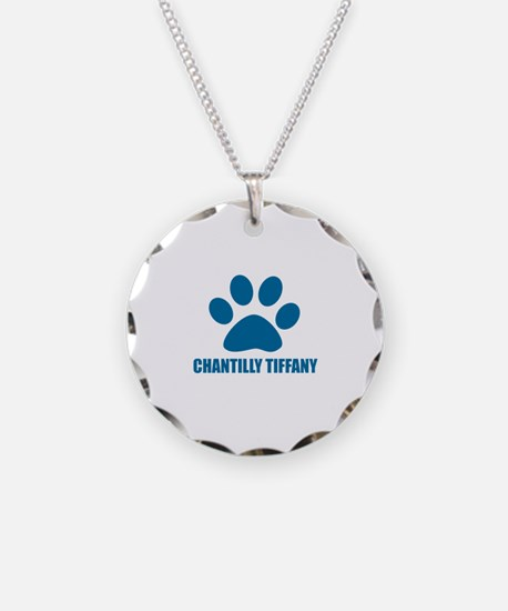 Chantilly Tiffany Cat Design Necklace