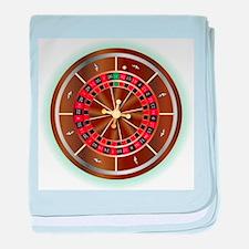 Roulette Wheel baby blanket