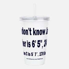 You Don't Know Jack Acrylic Double-wall Tumbler