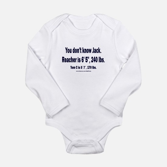 You Don't Know Jack Long Sleeve Infant Bodysuit