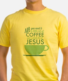 Coffee & Jesus T-Shirt