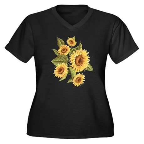 sunflower Plus Size T-Shirt