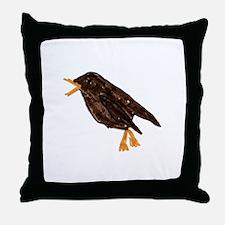 House Wren Throw Pillow