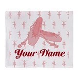 Ballet dancer Fleece Blankets