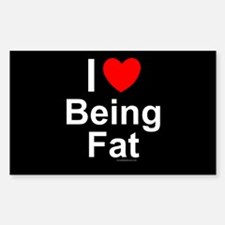 Being Fat Decal