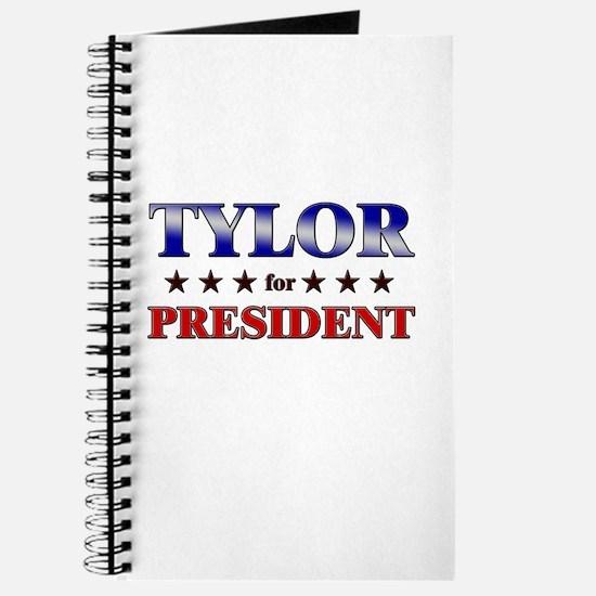 TYLOR for president Journal