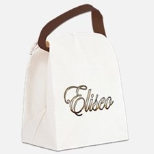 Unique Eliseo Canvas Lunch Bag