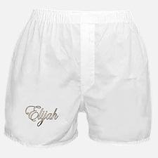 Gold Elijah Boxer Shorts