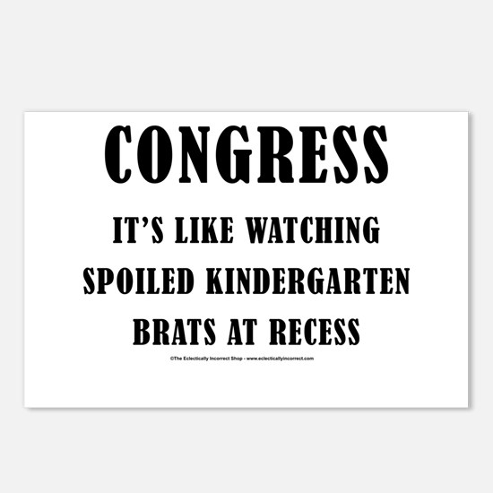 We have a congress? Postcards (Package of 8)