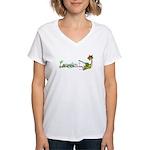 Taking It Easy Women's V-Neck T-Shirt