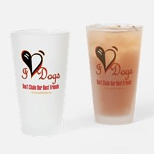 I Love Dogs: Don't Chain Our Best Friends Drinking