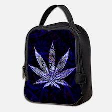Hemp Leaf Art Neoprene Lunch Bag