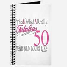 50th Birthday Gifts Journal