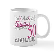 50th Birthday Gifts Small Mug