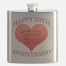 Unique Wedding anniversary Flask