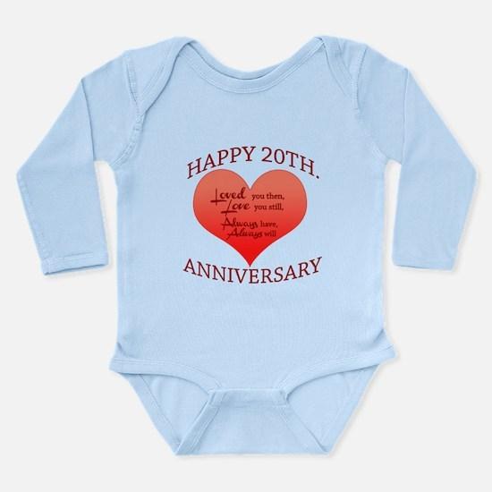 20th. Anniversary Body Suit