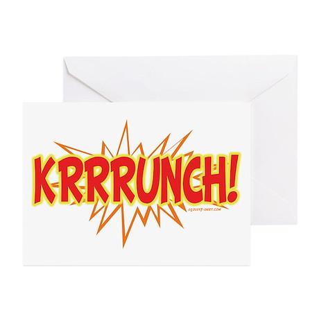 Krunch Greeting Cards (Pk of 10)