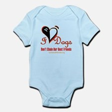 I Love Dogs: Don't Chain Our Best Friends Body Sui
