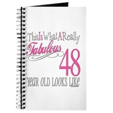 48th Birthday Gifts Journal