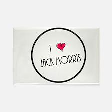 I Love Zack Morris Magnets