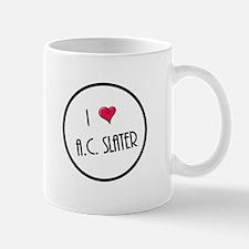 I Love AC Slater Mugs