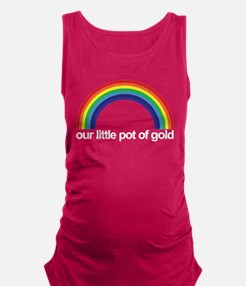 Cute Pride dark Maternity Tank Top