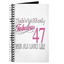 47th Birthday Gifts Journal