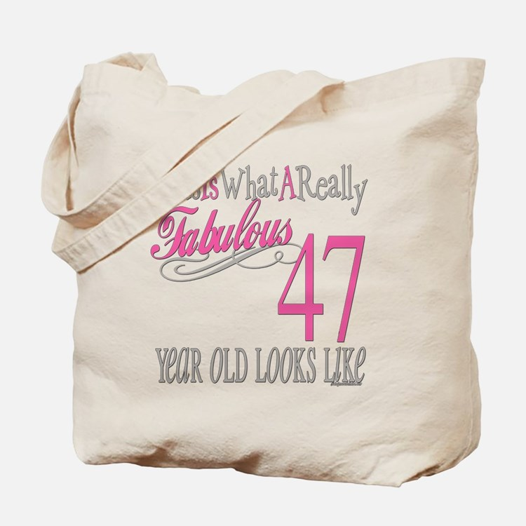 47th Birthday Gifts Tote Bag