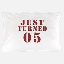 Just Turned 06 Birthday Pillow Case