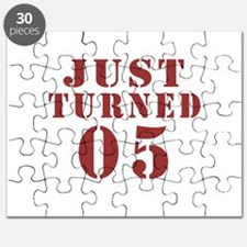 Just Turned 06 Birthday Puzzle