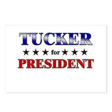 TUCKER for president Postcards (Package of 8)