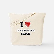 I love Clearwater Beach Florida Tote Bag