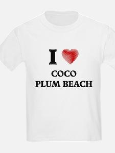 I love Coco Plum Beach Florida T-Shirt