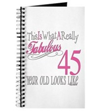 45th Birthay Gifts Journal