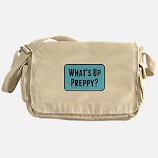 What's Up Preppy? Messenger Bag