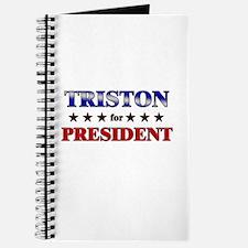 TRISTON for president Journal