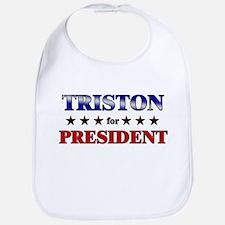 TRISTON for president Bib
