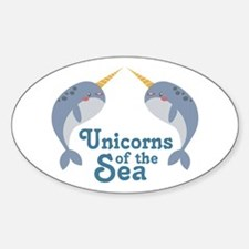 Unicorns Of Sea Decal