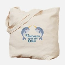 Unicorns Of Sea Tote Bag