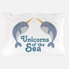 Unicorns Of Sea Pillow Case