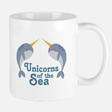 Unicorns Of Sea Mugs