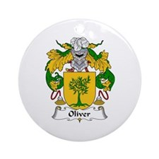 Oliver Ornament (Round)
