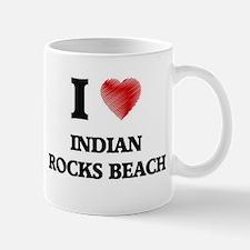 I love Indian Rocks Beach Florida Mugs