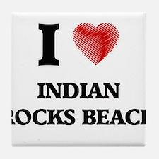 I love Indian Rocks Beach Florida Tile Coaster